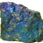Chalcopyrite (Peacock Ore)