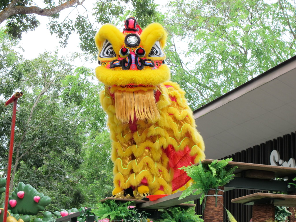 Photo from the Lion Dance I saw on New Years!