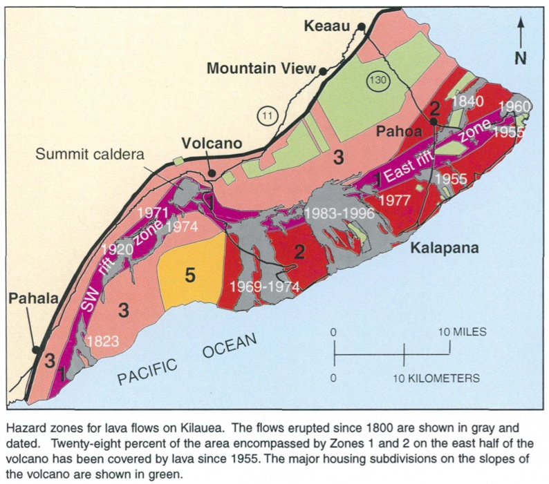 Kilauea 2018 East Rift Zone Eruption Kathleen Borealis